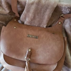 KENNETH COLE BROWN PURSE